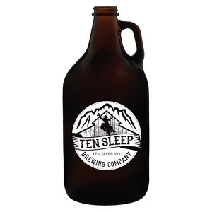 64 oz. Empty Growler